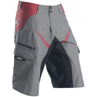 KENNY cyklo kraťasy UP and DOWN grey/red