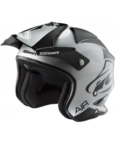KENNY přilba TRIAL AIR 19 black/silver