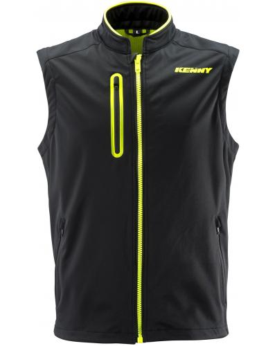 KENNY vesta BODYWARMER 19 black/neon yellow