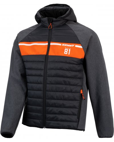 KENNY bunda RACING HYBRID 21 black/orange
