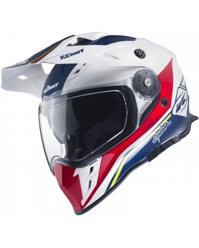 KENNY přilba EXPLORER 17 blue/white/red