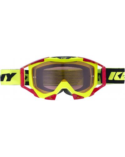 KENNY okuliare TITANIUM 17 neon yellow / red