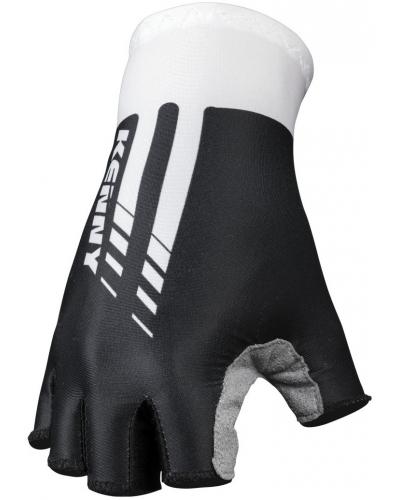 KENNY cyklo rukavice MITTEN ROUTE 11 black / white