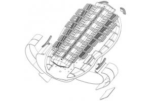 KNOX chránič páteře AEGIS 6 dámský 450mm