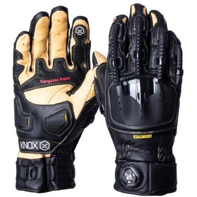 KNOX rukavice HANDROID POD black / beige