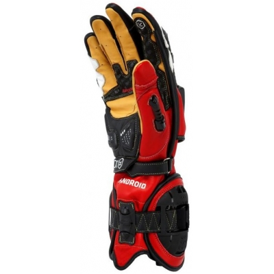 KNOX rukavice HANDROID red