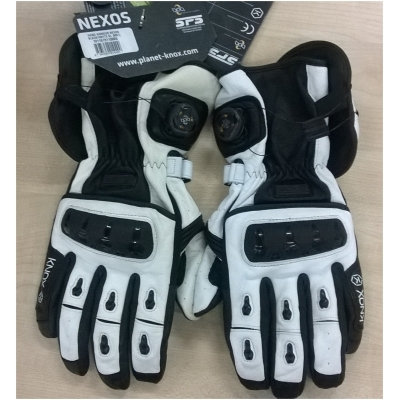 KNOX rukavice NEXOS white - POUŽITÉ