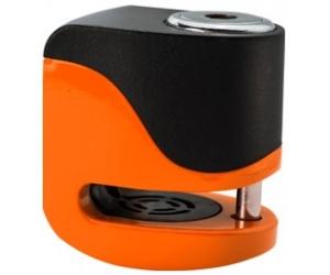 KOVIX kotoučový zámek KS6 Alarmový fluo orange