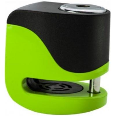 KOVIX kotúčový zámok s alarmom KS6 fluo green