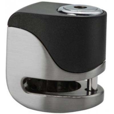 KOVIX kotoučový zámek s alarmem KS6 stainless