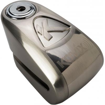 KOVIX kotoučový zámek s alarmem KAL6 silver