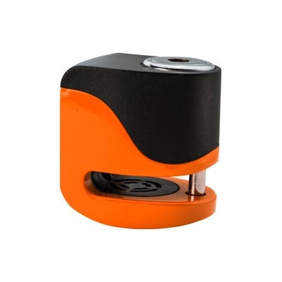 KOVIX kotúčový zámok s alarmom KS6 fluo orange