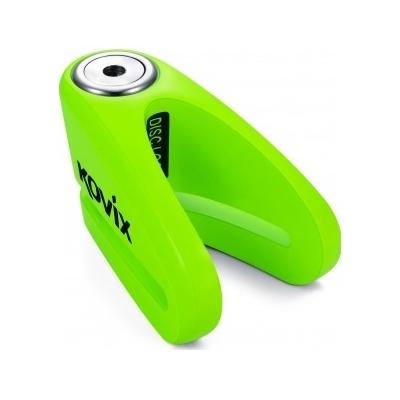 KOVIX kotúčový zámok KVZ1 fluo green