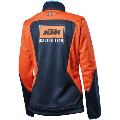 KTM bunda REPLICA TEAM Softshell dámska black / orange