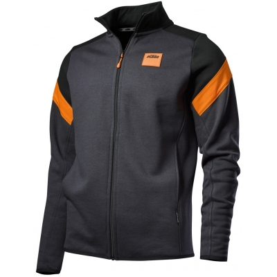 KTM mikina MECHANIC Zip black/orange