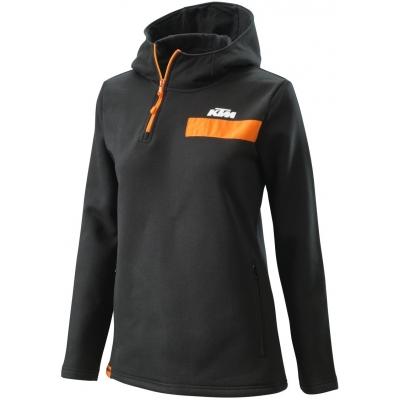 KTM mikina PURE dámska black / orange