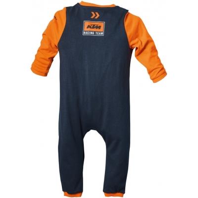 KTM dupačky REPLICA TEAM dětské black/orange