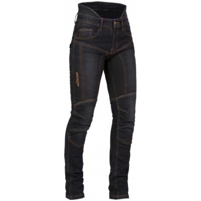 MBW nohavice jeans REBEKA dámske black