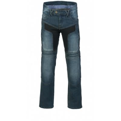 MBW kalhoty KEVLAR JEANS MARK blue