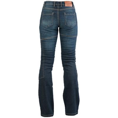 MBW kalhoty KEVLAR JEANS dámské blue