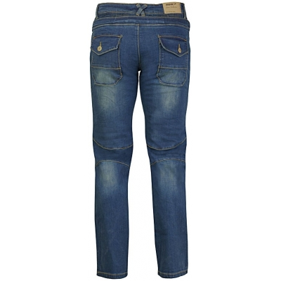 MBW kalhoty KEVLAR JEANS JOE blue