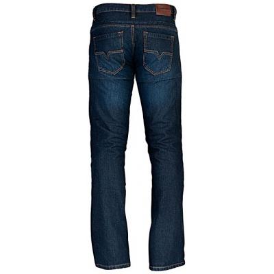 MBW kalhoty KEVLAR JEANS LIME blue