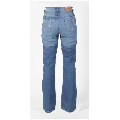 MBW kalhoty KEVLAR JEANS MAYA dámské blue