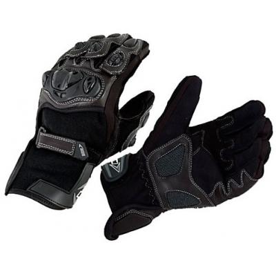 MBW rukavice VELAD black/brown