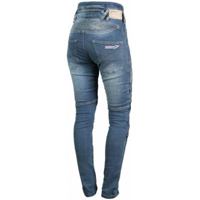 MBW kalhoty PIPPA KEVLAR JEANS dámské blue