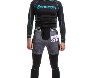 MEATFLY šortky NORRIS 2 black/grey