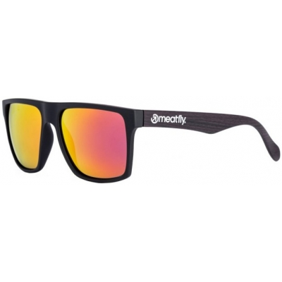 MEATFLY brýle TRIGGER black/dark wood