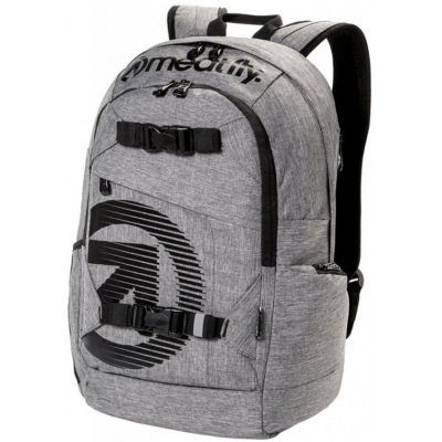 MEATFLY batoh BASEJUMPER 4 heather grey