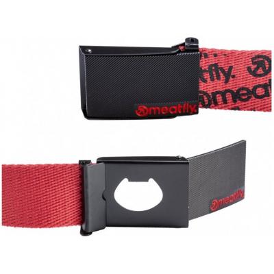 MEATFLY pásek MAVER red