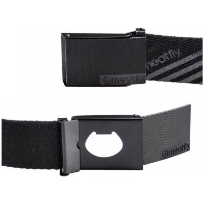 MEATFLY pásek DRACO black