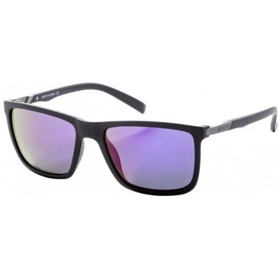 MEATFLY okuliare JUNO 2 matt black / purple