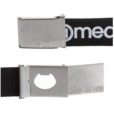 MEATFLY pásek DRACO 2 black/white