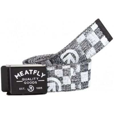 MEATFLY pásek SIREN 2 grey heather/white