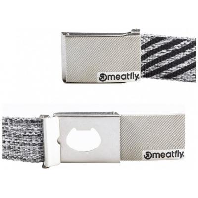 MEATFLY pásek DRACO grey