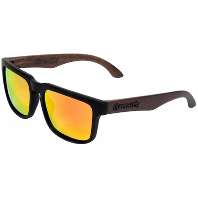 MEATFLY brýle CRAFT Polarized black/brown wood