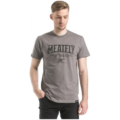 MEATFLY tričko SPEED concrete heather