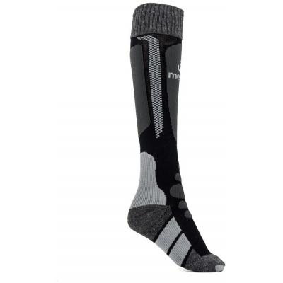 MEATFLY podkolienky SNOW SOCKS black/grey