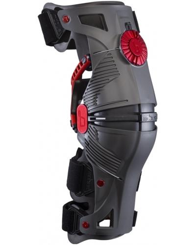 MOBIUS kolenné ortézy X8 sád L / P grey / red