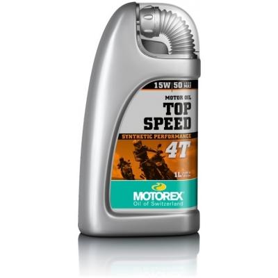 MOTOREX motorový olej TOP SPEED 4T 15W50