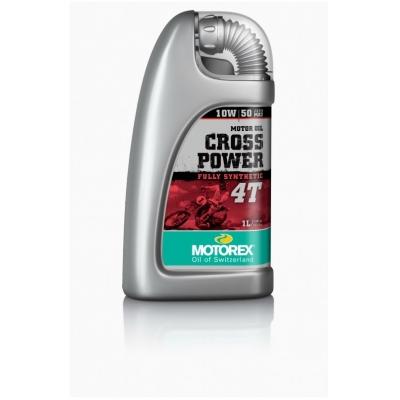 MOTOREX motorový olej CROSS POWER 4T 10W50