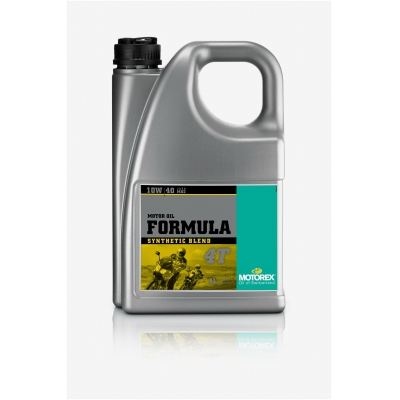 MOTOREX motorový olej FORMULA 4T JASO MA2 4T 10W40 4L