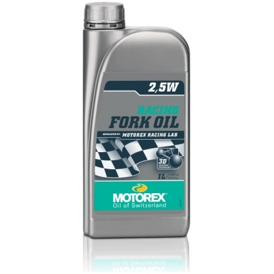 MOTOREX olej RACING FORK OIL 2,5W 1L