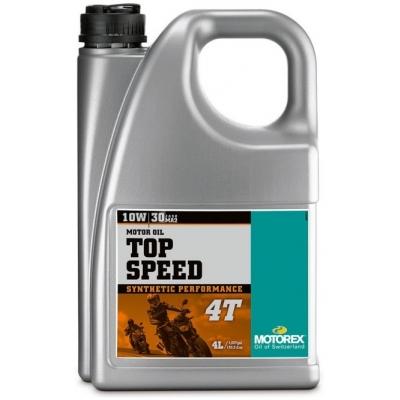 MOTOREX motorový olej TOP SPEED 4T JASO MA2 10W30 4L