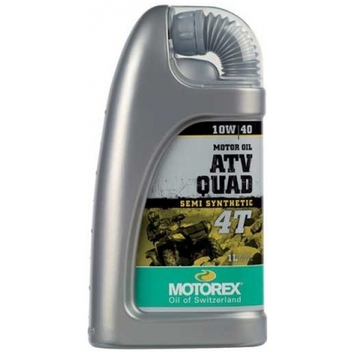 MOTOREX motorový olej ATV QUAD 4T 10W40