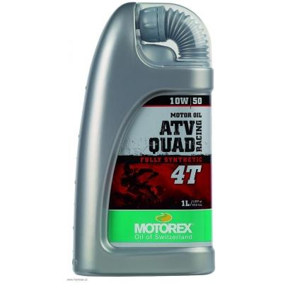 MOTOREX motorový olej ATV QUAD RACING 4T 10W50