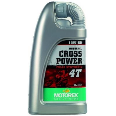 MOTOREX motorový olej CROSS POWER 4T 10W60